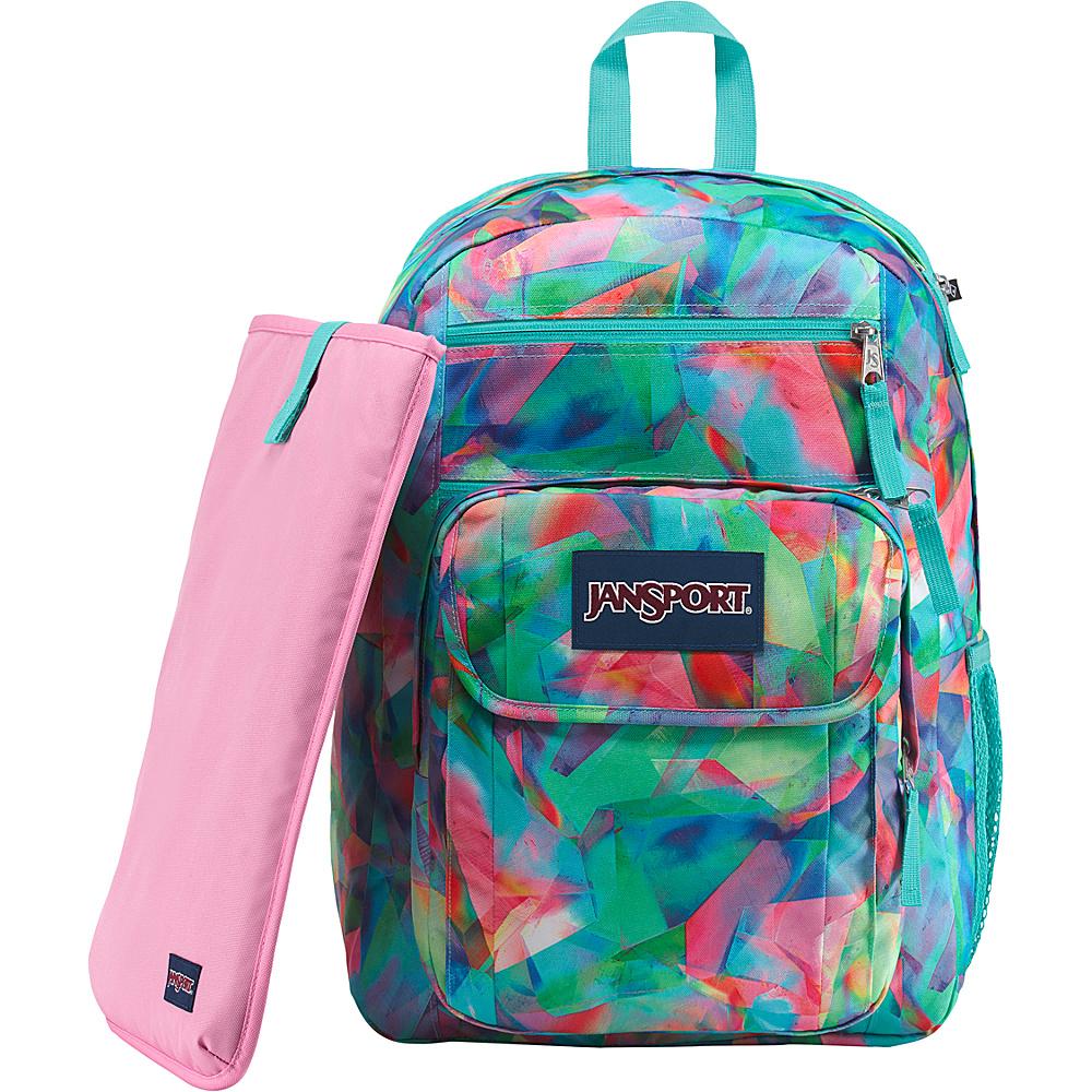 JanSport Digital Student Laptop Backpack Crystal Light - JanSport Business & Laptop Backpacks