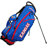 Team Golf NCAA University of Kansas Jayhawks Fairway Stand Bag Blue - Team Golf Golf Bags