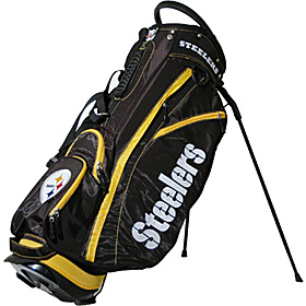 NFL Pittsburgh Steelers Fairway Stand Bag Black