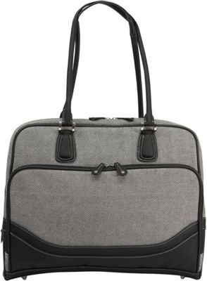 Mobile Edge Classic Herringbone Laptop Tote