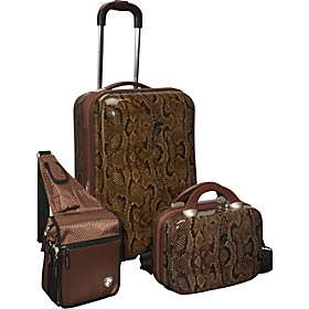 3 Piece Weekender Hardside Spinner Set Snake