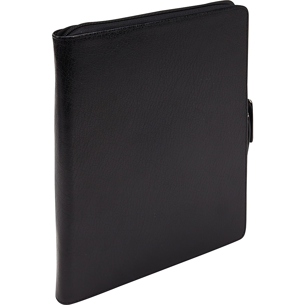 Bellino Zip Around Noteworthy Case - New iPad and iPad 2 Black - Bellino Electronic Cases