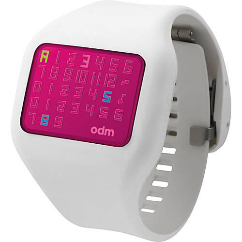 o.d.m. Watches Illumi White/Pink - o.d.m. Watches Watches