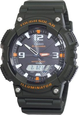 Casio Men's Solar Sport Combination Watch Black - Casio Watches