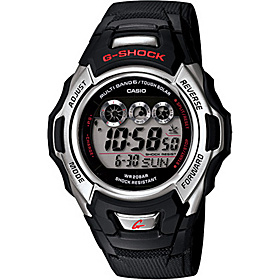 G-Shock Atomic Solar Watch  Black