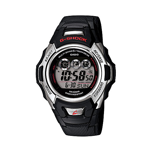 Casio G-Shock Atomic Solar Watch Black - Casio Watches