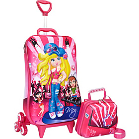 Meg Dance Roller Bag Pink