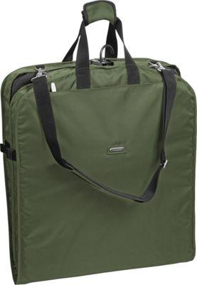 Wally Bags 42 inch Shoulder Strap Garment Bag Olive - Wally Bags Garment Bags