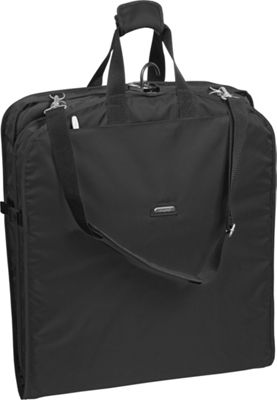 Wally Bags 42 inch Shoulder Strap Garment Bag Black - Wally Bags Garment Bags