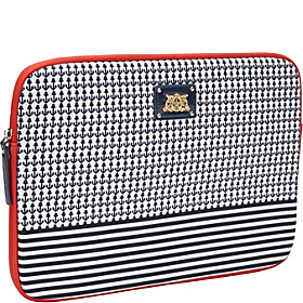 Anchor With Stripe Laptop Case 13'' Regal