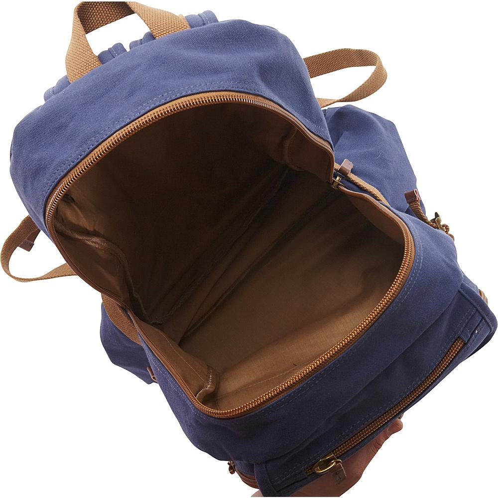 Vagabond Traveler Sport Canvas Backpack Military Green - Vagabond Traveler Everyday Backpacks