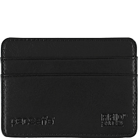 RFIDexecutive 25 RFID-Blocking Credit Card Holder Black