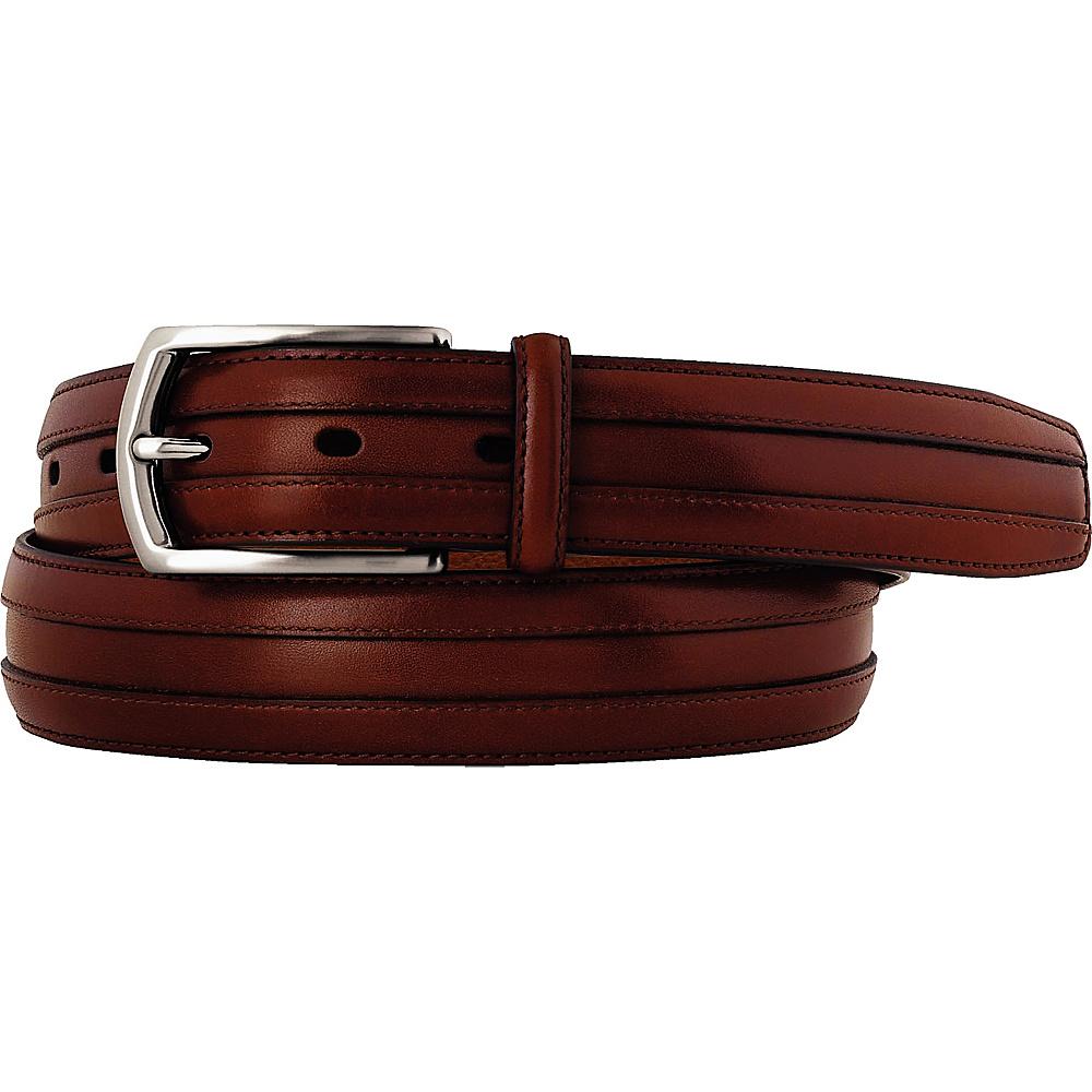 Johnston Murphy Double Calf Belt Cognac 44 Johnston Murphy Other Fashion Accessories