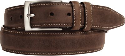 Johnston & Murphy Distressed Casual Belt Brown - Size 36 - Johnston & Murphy Other Fashion Accessories