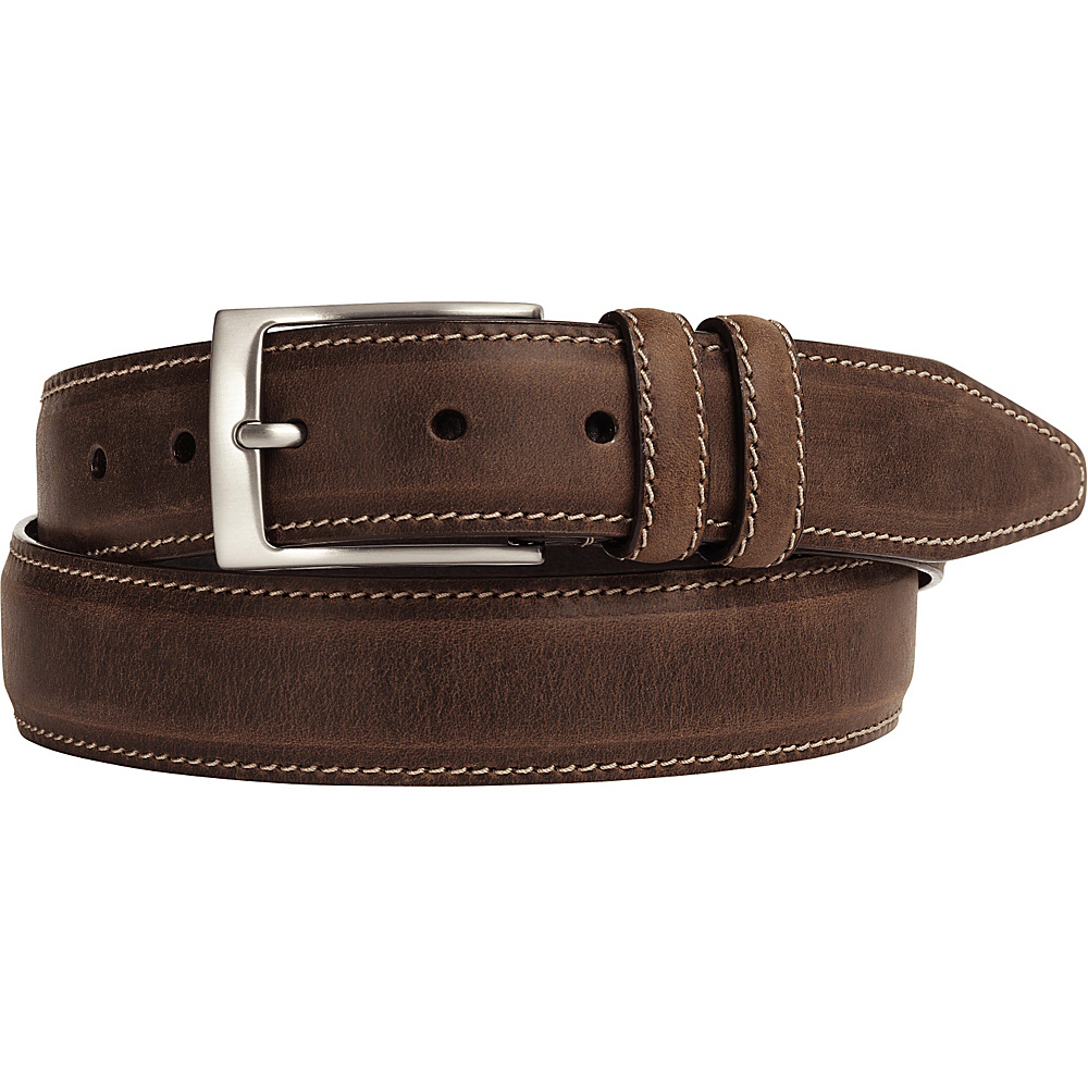 Johnston Murphy Distressed Casual Belt Brown 42 Johnston Murphy Other Fashion Accessories