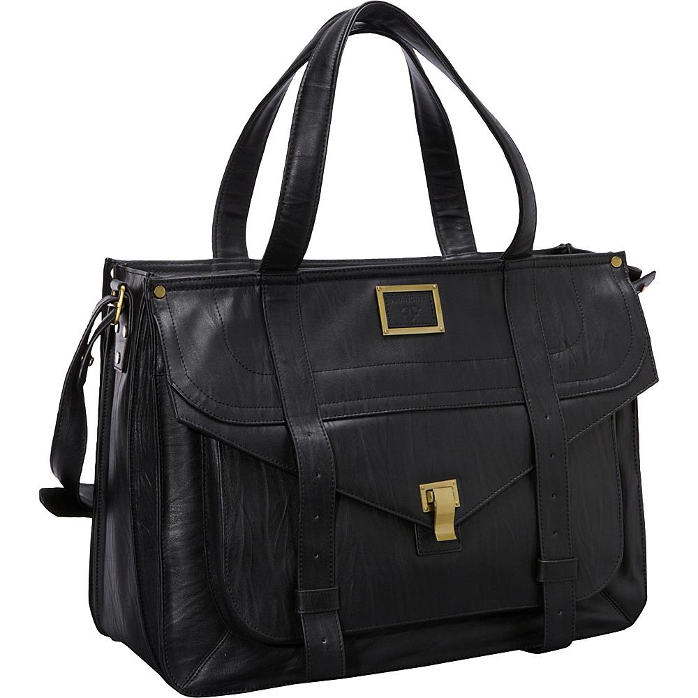 Women In Business 15.6 Mercer Street Laptop Case Black Women In Business Women s Business Bags