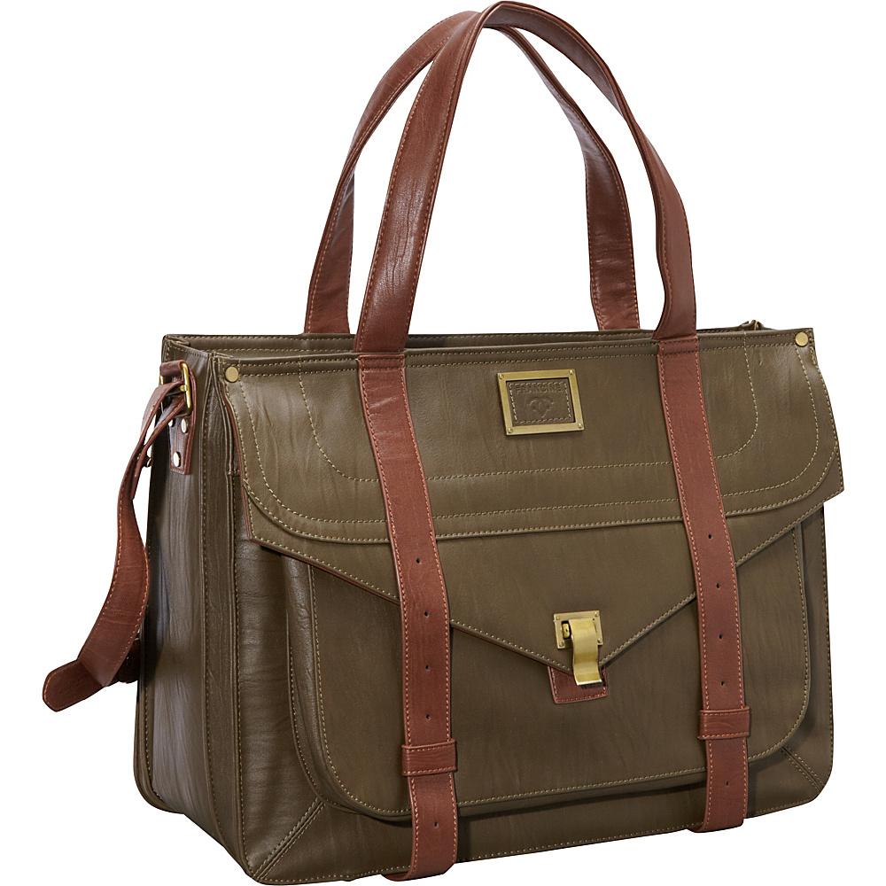Women In Business 15.6 Mercer Street Laptop Case Olive Women In Business Women s Business Bags