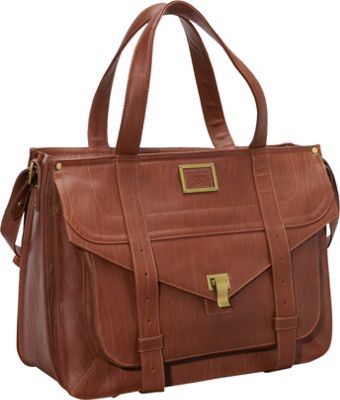 Women In Business 15.6 inch Mercer Street Laptop Case Brown - Women In Business Women's Business Bags