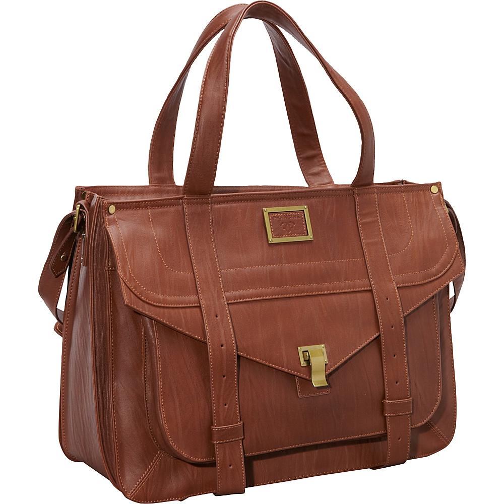 Women In Business 15.6 Mercer Street Laptop Case Brown Women In Business Women s Business Bags