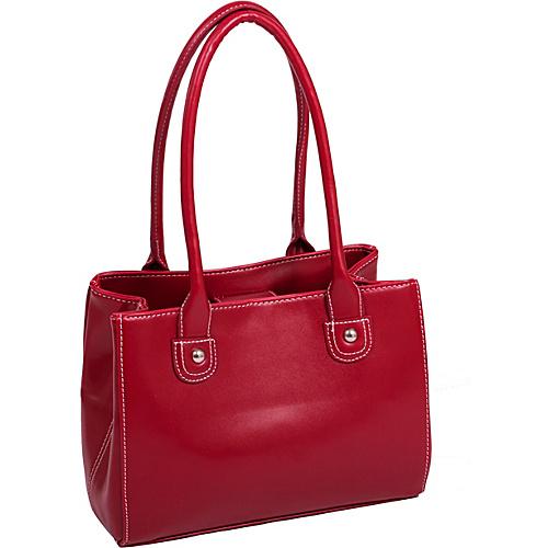 Parinda Isabella Shoulder Bag Red - Parinda Manmade Handbags