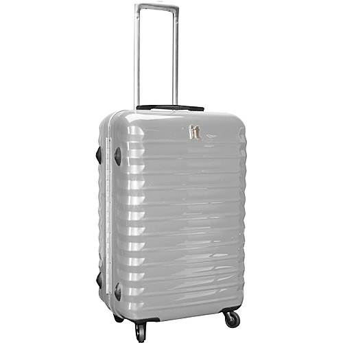 IT Luggage Shiny Vigo 4 Wheeled Framed 24