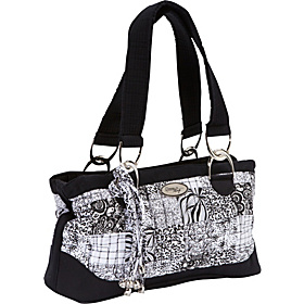 Reese Shoulder Bag, Salt & Pepper   Salt & Pepper