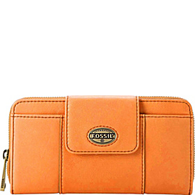 Explorer Zip Clutch Aqua