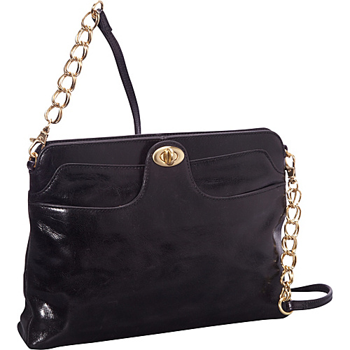 Hobo Farrah Shoulder Bag Black - Hobo Leather Handbags