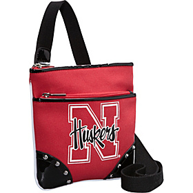 Nebraska Huskers Cross Body Bag Red