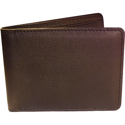 Royce Leather RFID Blocking Tuxedo Wallet Coco/Coco - Royce Leather Mens Wallets
