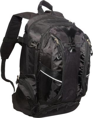 Eastsport Backpack with Multi Pocket Org. System Black - Eastsport Business & Laptop Backpacks