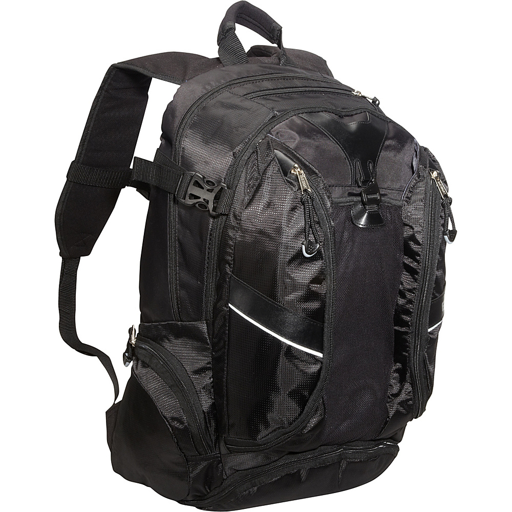 Eastsport Backpack with Multi Pocket Org. System Black Eastsport Business Laptop Backpacks
