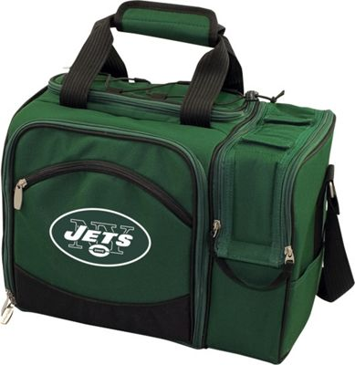 Picnic Time New York Jets Malibu Insulated Picnic Pack New York Jets Hunter - Picnic Time Outdoor Coolers