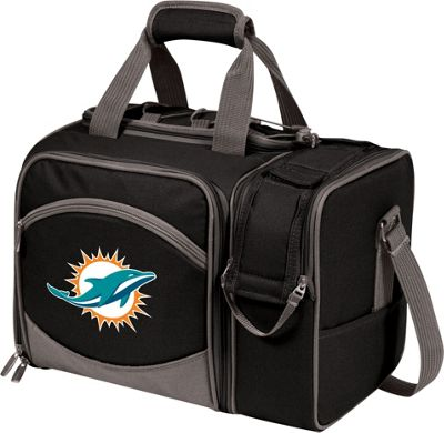 Picnic Time Picnic Time Miami Dolphins Malibu Insulated Picnic Pack Miami Dolphins - Picnic Time Outdoor Coolers