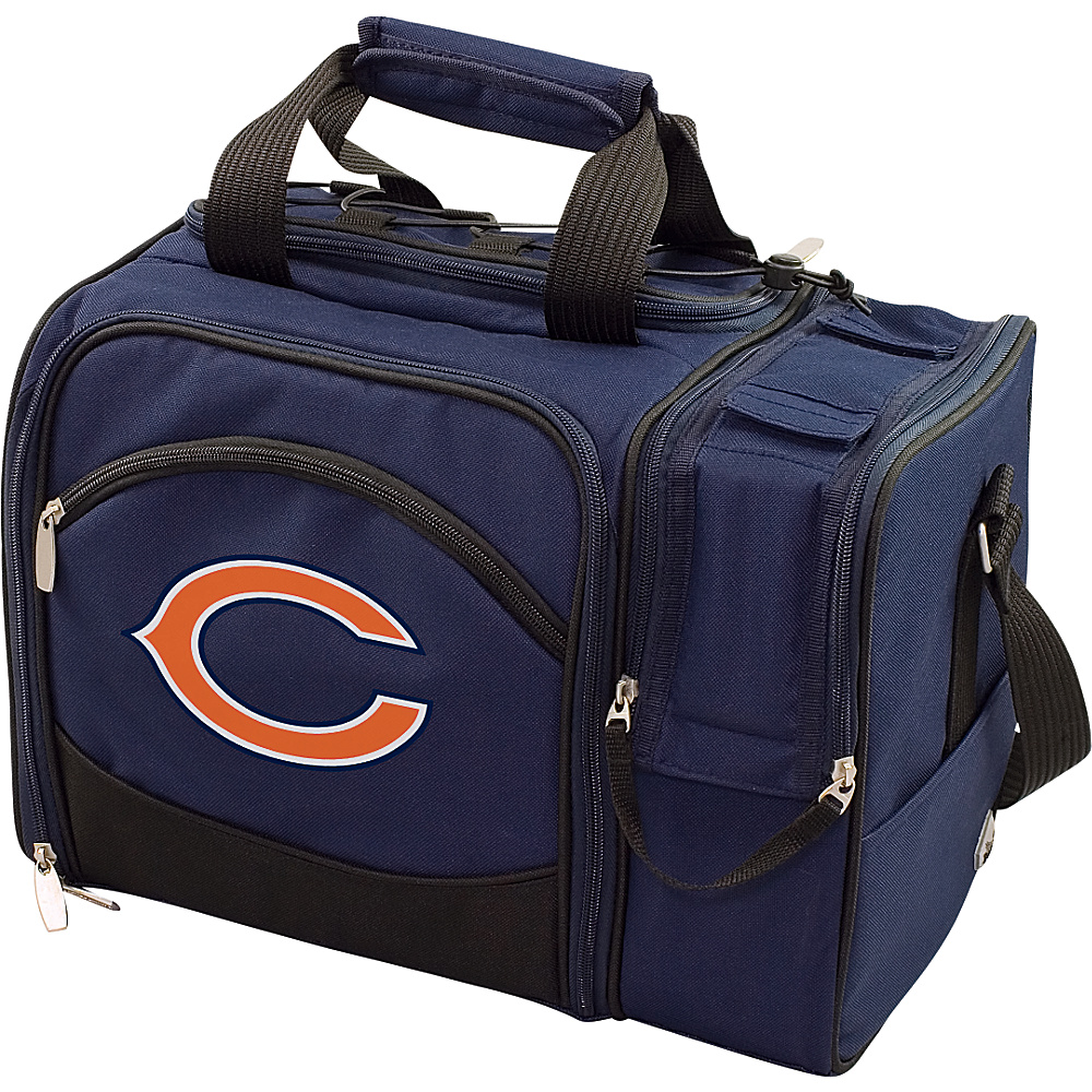 Picnic Time Chicago Bears Malibu Insulated Picnic Pack Chicago Bears Navy - Picnic Time Outdoor Coolers - Outdoor, Outdoor Coolers