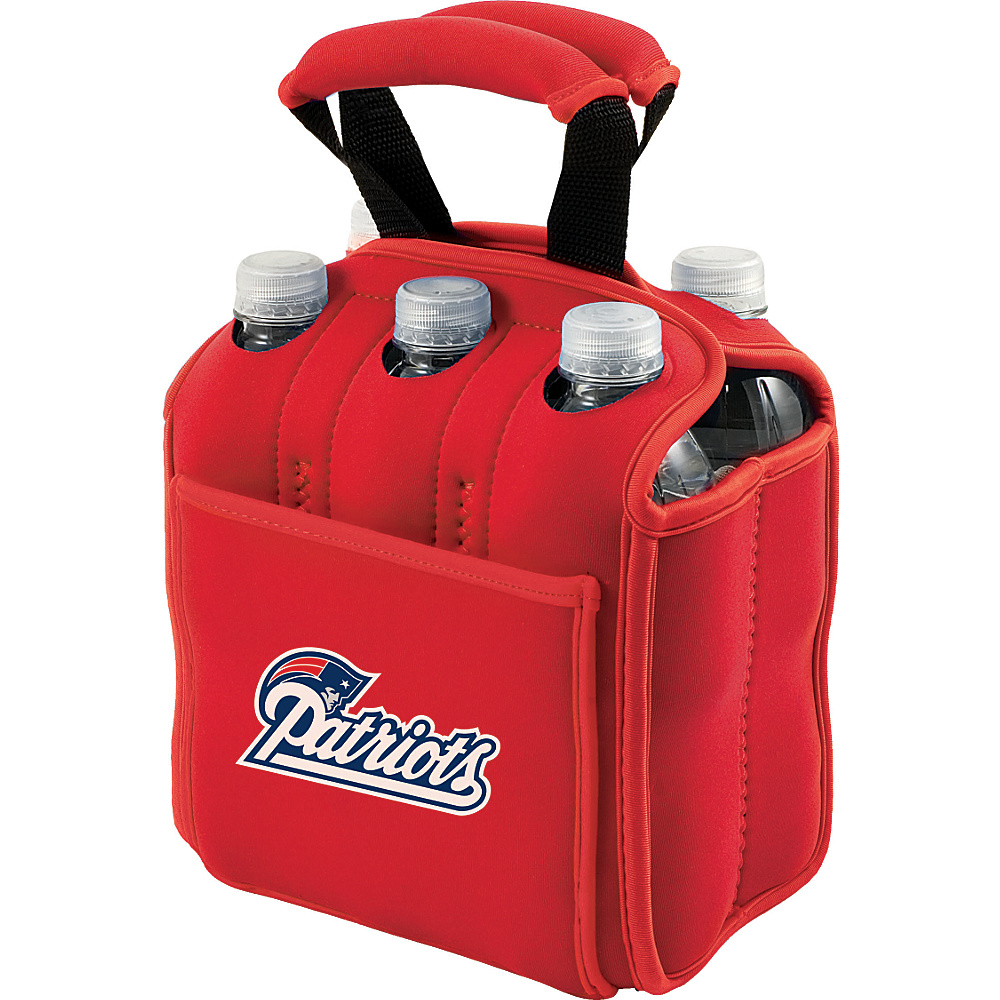 Picnic Time New England Patriots Six Pack New England Patriots Red - Picnic Time Outdoor Accessories - Outdoor, Outdoor Accessories