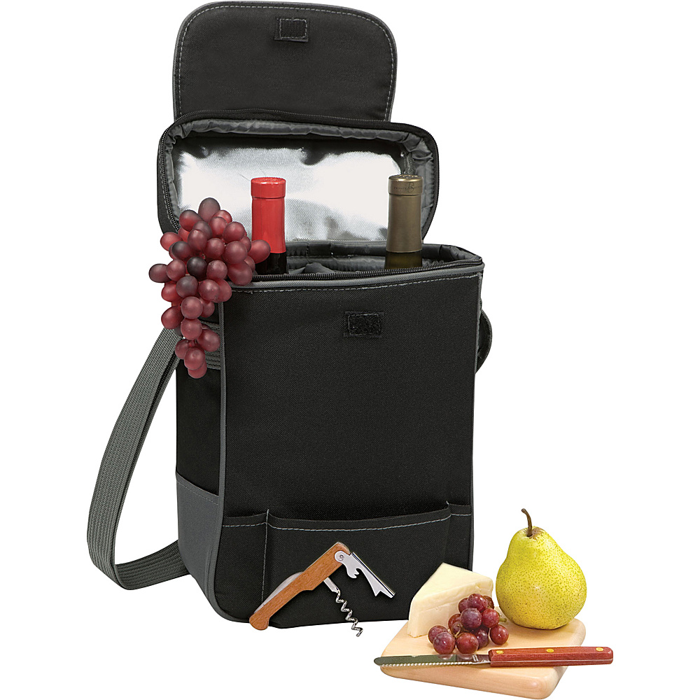 Picnic Time Pittsburgh Steelers Duet Wine & Cheese Tote Pittsburgh Steelers - Picnic Time Outdoor Coolers