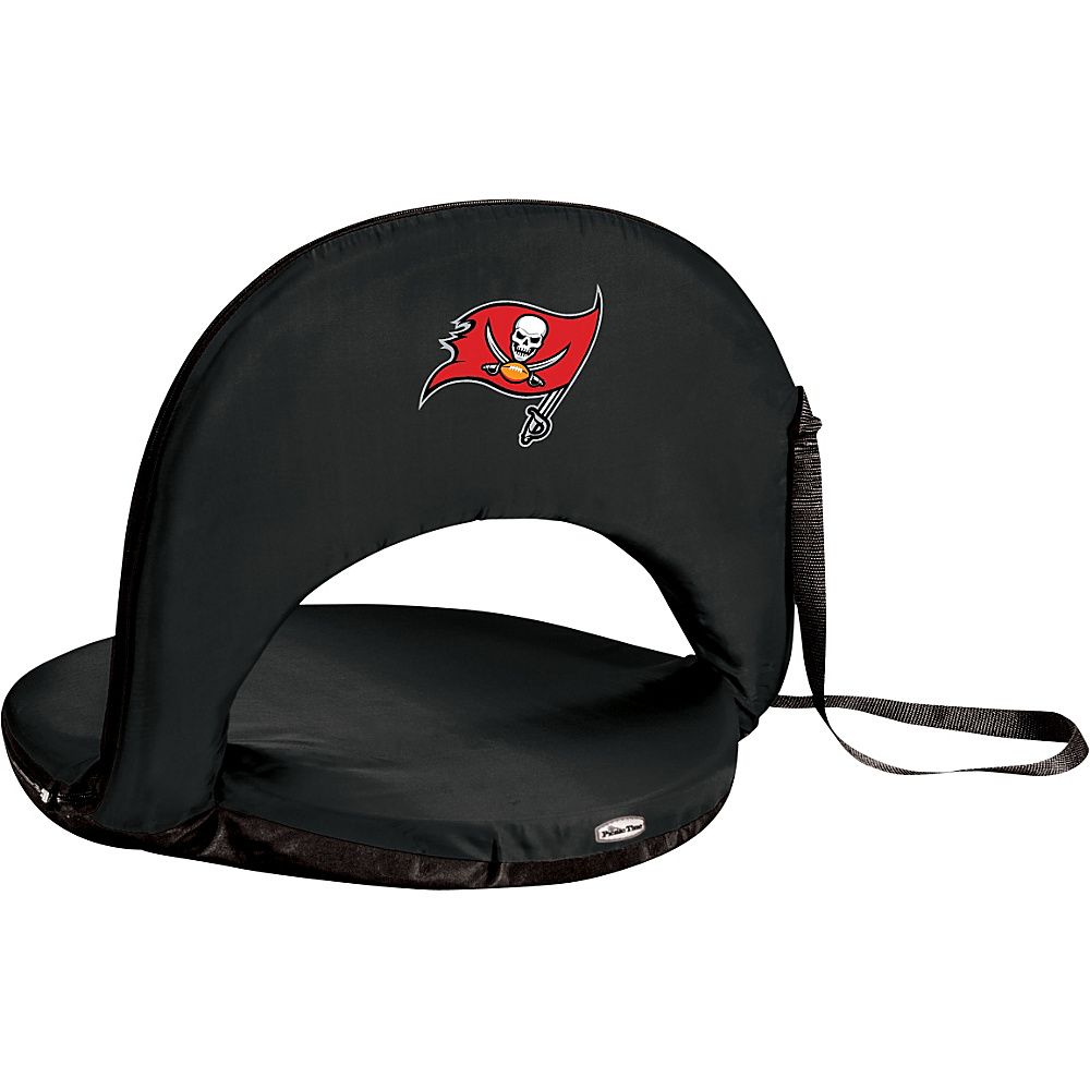 Picnic Time Tampa Bay Buccaneers Oniva Seat Tampa Bay Buccaneers Black - Picnic Time Outdoor Accessories - Outdoor, Outdoor Accessories