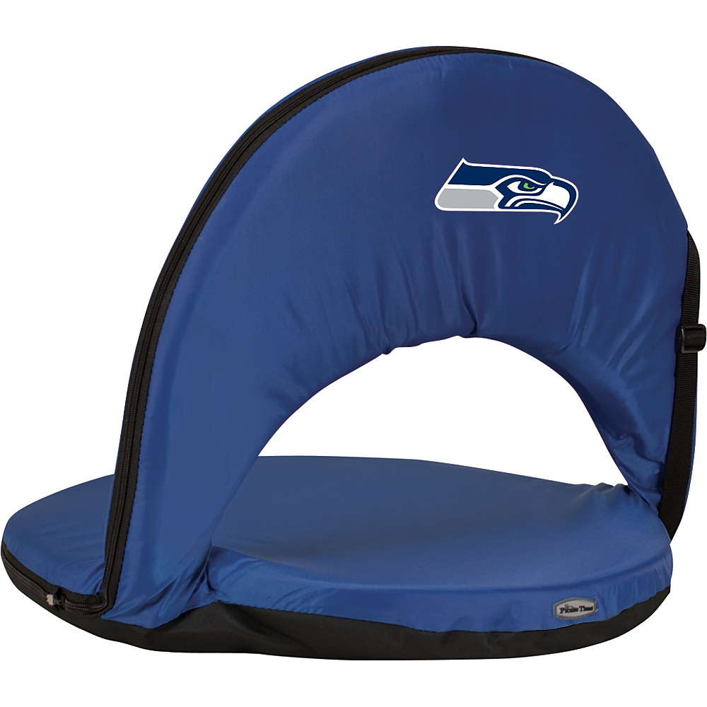 Picnic Time Seattle Seahawks Oniva Seat Seattle Seahawks Navy - Picnic Time Outdoor Accessories - Outdoor, Outdoor Accessories