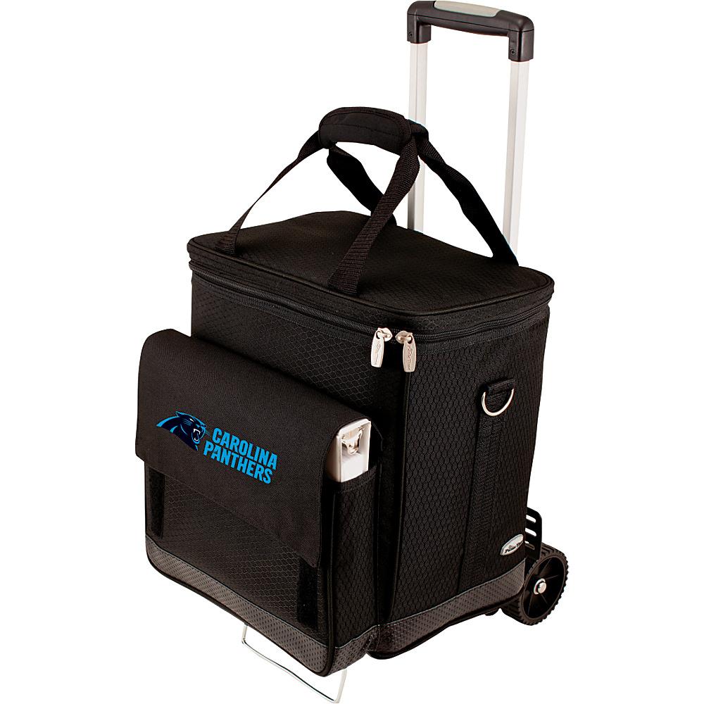 Picnic Time Carolina Panthers Cellar w/Trolley Carolina Panthers - Picnic Time Outdoor Coolers - Outdoor, Outdoor Coolers