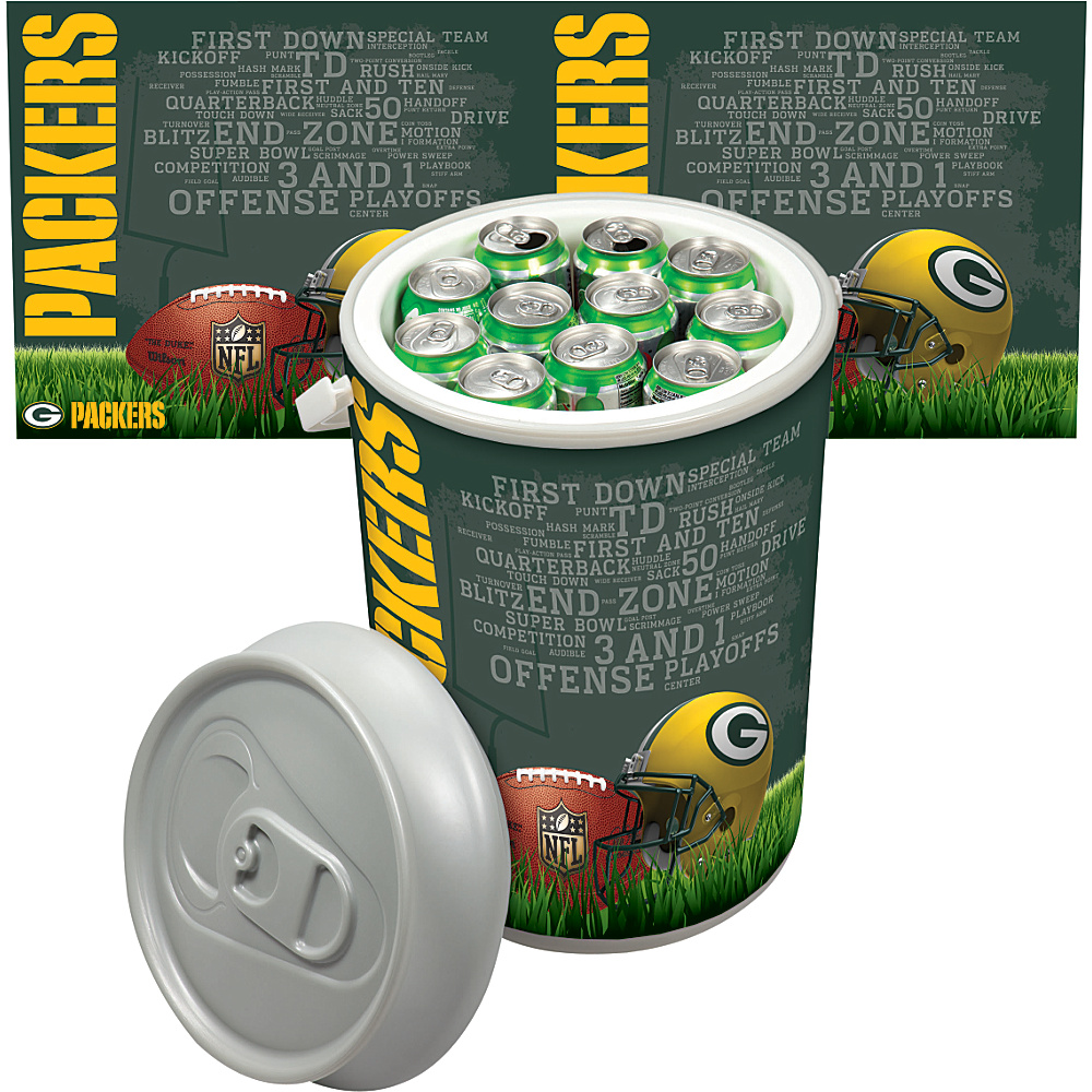 Picnic Time Green Bay Packers Mega Can Cooler Green Bay Packers - Picnic Time Outdoor Coolers - Outdoor, Outdoor Coolers