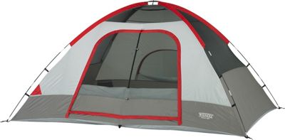 Wenzel Pine Ridge 10x8 Foot, 4-5 Person 2-Room Dome Tent Reds - Wenzel Outdoor Accessories
