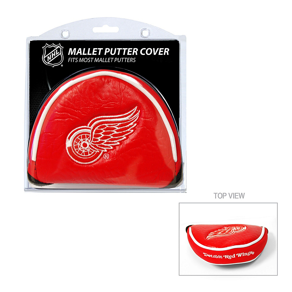 Team Golf USA Detroit Red Wings Mallet Putter Cover Team Color - Team Golf USA Golf Bags