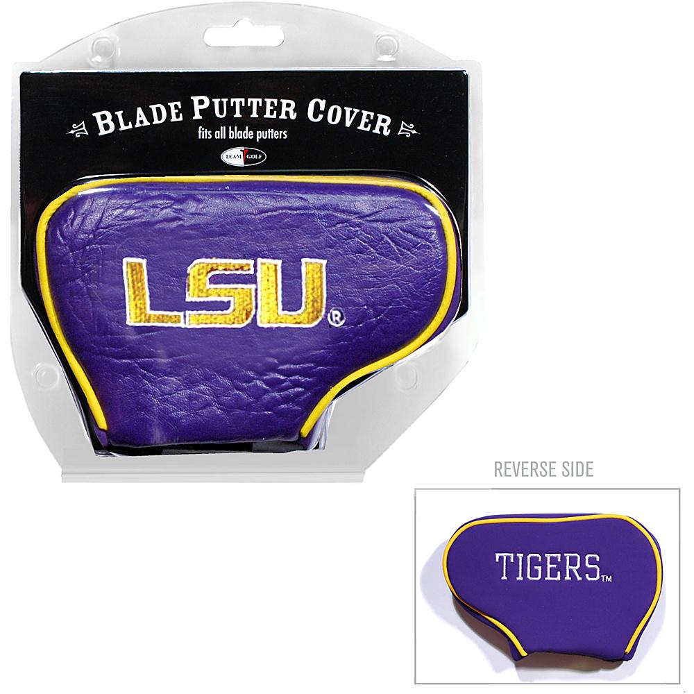 Team Golf USA Louisiana State University (LSU) Tigers Blade Putter Cover Team Color - Team Golf USA Golf Bags