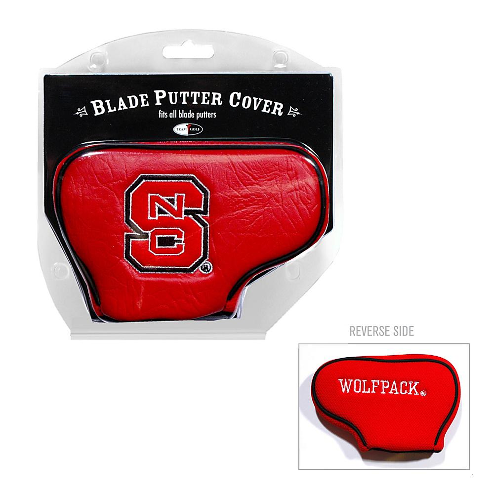 Team Golf USA North Carolina State University Wolfpack Blade Putter Cover Team Color - Team Golf USA Golf Bags