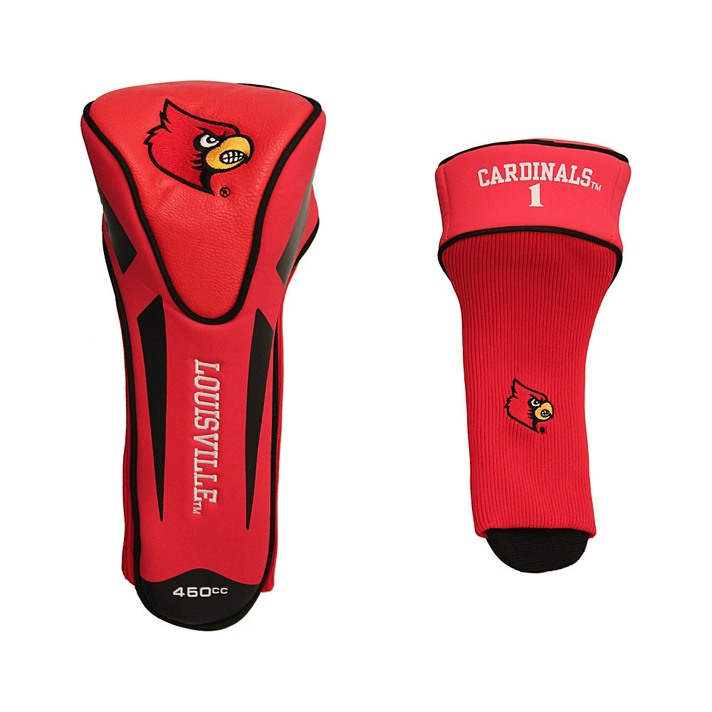 Team Golf USA University of Louisville Cardinals Single Apex Headcover Team Color - Team Golf USA Golf Bags