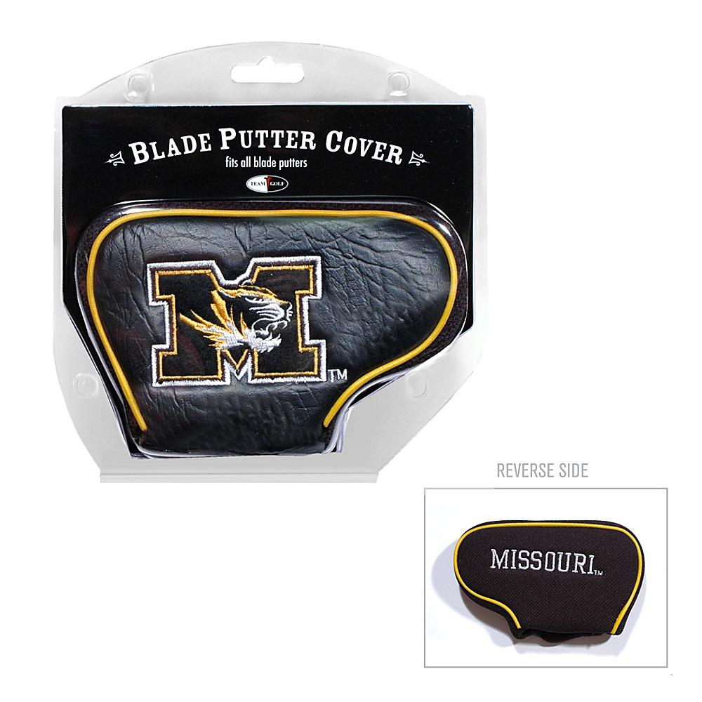 Team Golf USA University of Missouri Tigers Blade Putter Cover Team Color - Team Golf USA Golf Bags