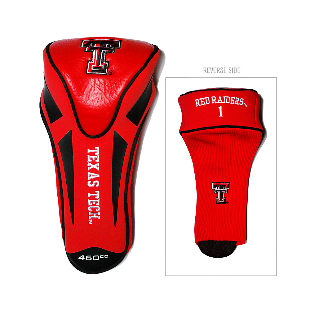 Team Golf USA Texas Tech University Red Raiders Single Apex Headcover Team Color - Team Golf USA Golf Bags