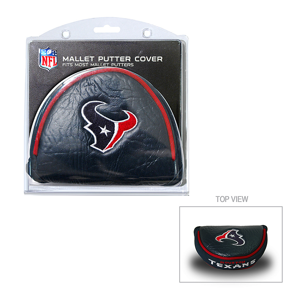 Team Golf USA Houston Texans Mallet Putter Cover Team Color - Team Golf USA Golf Bags