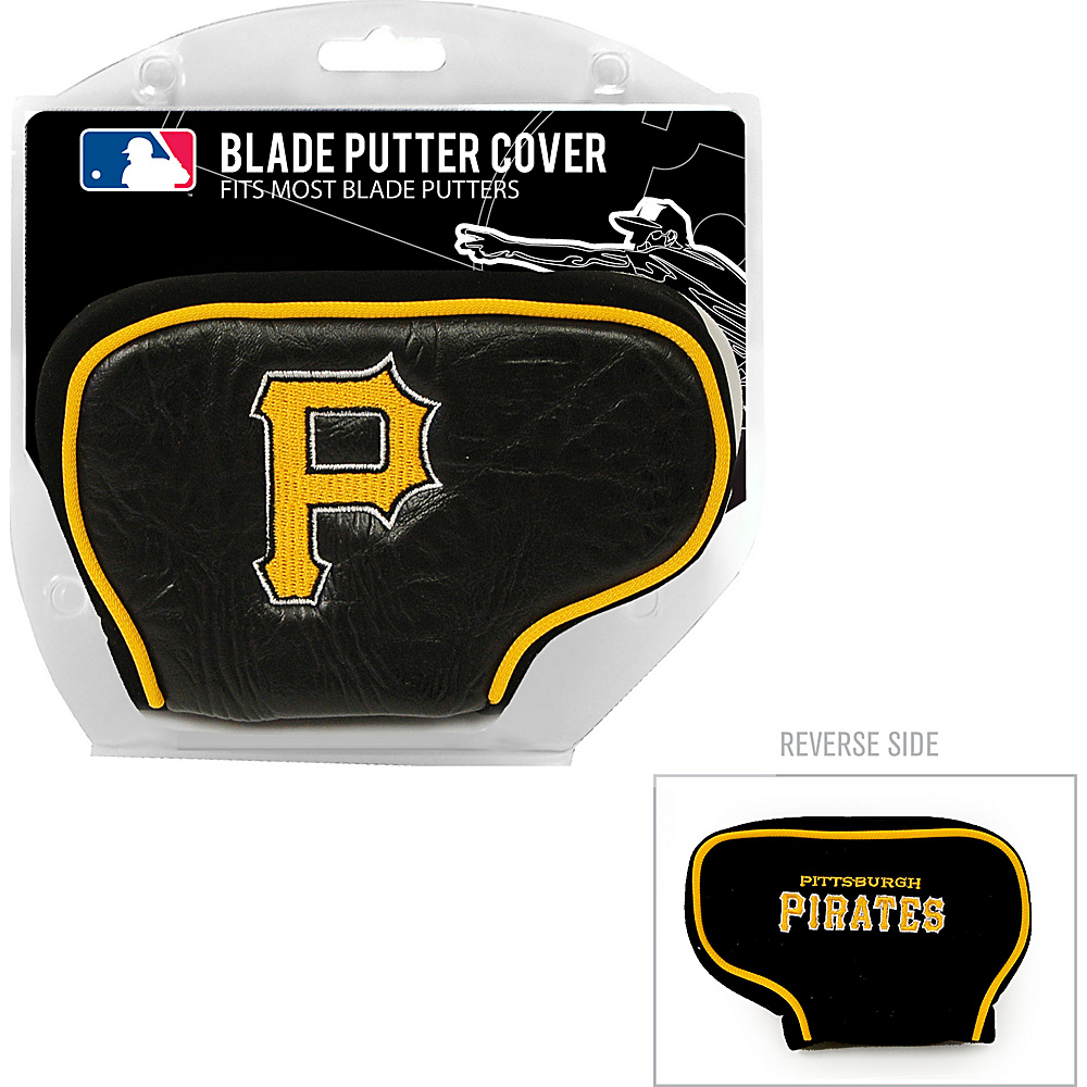 Team Golf USA Pittsburgh Pirates Blade Putter Cover Team Color - Team Golf USA Golf Bags